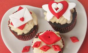 Trang trí cupcake cho ngày Valentine thêm ngọt ngào
