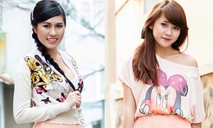 Vân Shi - Emily Hồng Nhung đọ style hẹn hò ngày Valentine