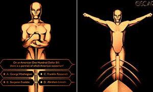 Loạt tượng Oscar 'ăn theo' hình ảnh phim hay nhất
