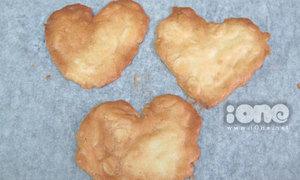 Giòn rụm bánh hạnh nhân trái tim thơm ngon