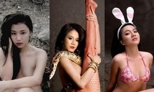 Điểm danh các sao Việt thích 'cởi' vì môi trường