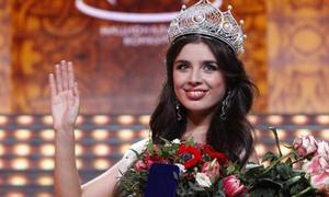 Chân 'ngắn' 1m63 lên ngôi Hoa hậu Nga