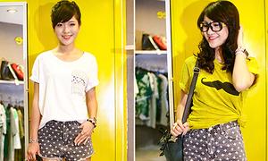 Linh Tây - Hin Vũ khởi động mùa hè với style nhí nhảnh