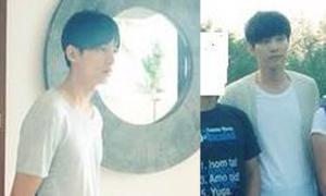 Lộ ảnh Won Bin quay quảng cáo ở Đà Nẵng