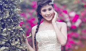 Miss Teen Hồ Bích Trâm diện tóc tết điệu đà