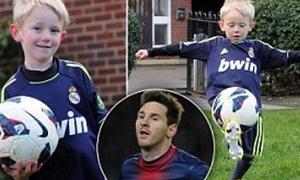 Phiên bản Lionel Messi nhí gây sốt ở Anh