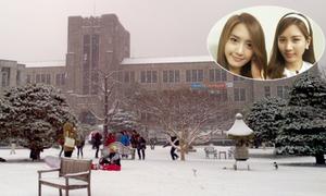 Trường đại học tuyệt đẹp của Yoon A và Seo Hyun