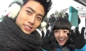 Taec Yeon, Hong Ki hớn hở vui chơi cùng 'vợ' ngoại quốc