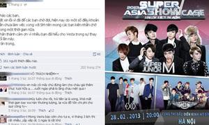 Fan Việt mất lòng tin với BTC showcase SuJu M