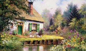 Đồng quê đẹp như thiên đường qua nét vẽ họa sĩ Hà Lan