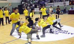 Sinh viên hò hét khản cổ trong đêm chung kết VUG