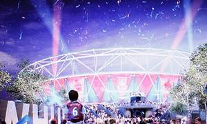 Lộ diện thiết kế SVĐ mới toanh của West Ham