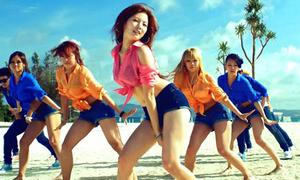 Những màn trình diễn 'bỏng mắt' của mỹ nữ Kpop
