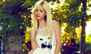 Váy voan mèo xinh hút hồn nhiều teengirl