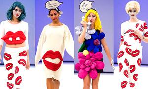 Cá tính tuyệt đối với trào lưu Pop art