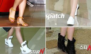4 kiểu giày bệt được lòng sao Hàn