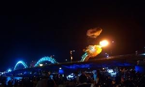 Video 'Rồng phun lửa' ở Đà Nẵng