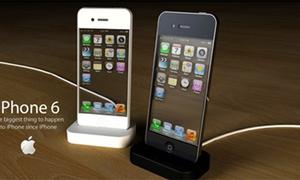 iPhone 6 màn hình trong suốt, camera 10 'chấm'
