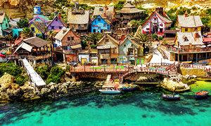 'Ngó nghiêng' làng Popeye đẹp mơ màng bên vịnh Anchor