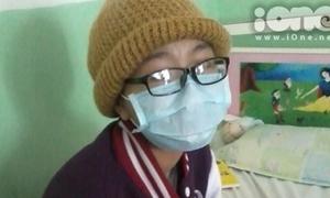 Teen Trần Phú cầu nguyện cho nữ sinh bị ung thư máu