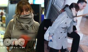 Yoon Eun Hye bịt mặt tới Hà Nội