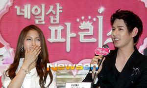 Gyuri Kara, Jun Ji Hoo hôn nhau tới tấp trong phim mới