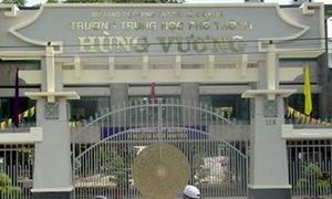 Trường THPT Hùng Vương sửa đáp án nâng điểm cho học sinh
