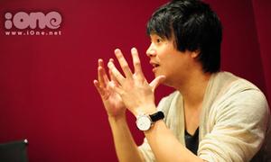 Thanh Bùi, Quang Đăng hăng say tập luyện cho sinh viên