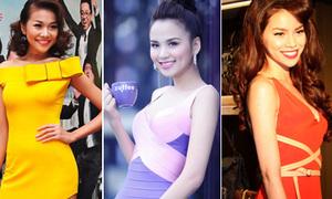 7 mẫu váy đụng hàng 'kỉ lục' của sao Việt