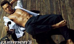'Hoàng tử' Lin Dan khoe body quyến rũ