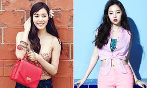 Tiffany - So Hee đọ style siêu mát ngày nắng