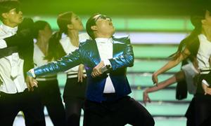 Psy qua Mỹ quảng bá cũng không giúp 'Gentleman' thăng hạng