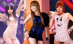 Tuyển tập váy ngắn như áo của HyunA
