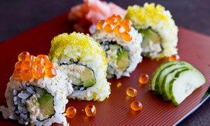 Món ngon cuối tuần sushi cuộn bơ tươi