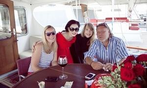 Lý Nhã Kỳ nổi bật trên du thuyền ở Cannes