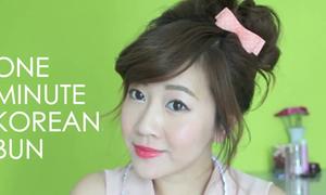 Clip: Búi rối kiểu Hàn nhanh gọn trong 1 phút