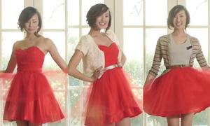 Clip: biến tấu 7 kiểu cùng váy tiệc cho teengirl cuối cấp