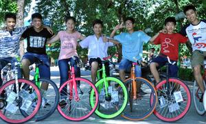 Xe đạp không phanh 'hút hồn' teens Việt