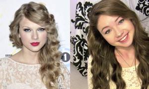Clip: làm tóc xoăn đều như Taylor Swift không cần máy