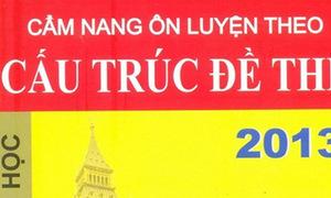 5 bạn nhận cuốn 'Cẩm nang ôn luyện theo cấu trúc đề thi 2013 môn Anh'