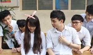 Video hài hước 'Học trò biết yêu - Cấm hay không cấm'
