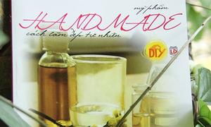 5 bạn nhận sách 'Mỹ phẩm handmade - Cách làm đẹp tự nhiên'