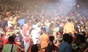 38.000 bạn trẻ vùng sâu cuồng nhiệt với âm nhạc