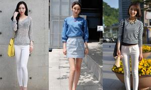 Thời trang đến trường 'chất lừ' của sinh viên Hàn