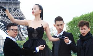 Ngô Thanh Vân phải cởi đồ giữa trời Paris rét cóng