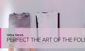 Clip: Gấp T-shirt trong 5 giây