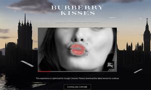 Google và Burberry ra dịch vụ gửi nụ hôn cực 'độc'