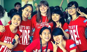 Teens Hà Nội hào hứng giao lưu cùng sinh viên quốc tế
