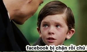 Dân mạng rần rần chế ảnh Facebook chập chờn