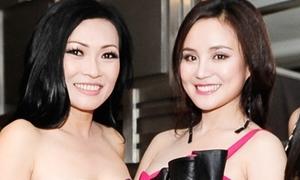 Phương Thanh 'đọ' vai trần với Vy Oanh